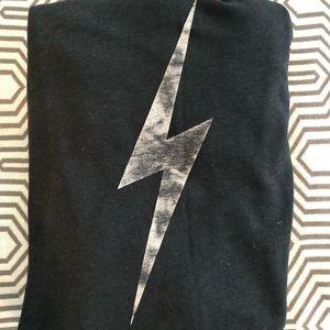 Aviator Nation lightning bolt hoodie